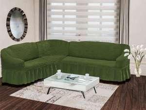 Чехол на диван угловой левосторонний BULSAN 2+3 посадочных мест