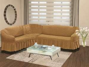 Чехол BULSAN на диван угловой 2+3 посадочных места левосторонний