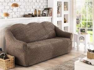 Чехол для дивана KARNA двухместный без юбки