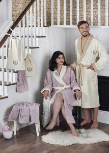 Набор семейных халатов с полотенцем ADRA