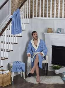 Набор халат махровый и 2 полотенца ADRA 3XL