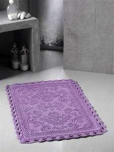 Коврик MODALIN Darin кружевной для ванной комнаты (ручная работа)