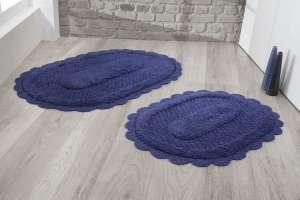 Набор ковриков для ванной Кружевной Lokal (ручная работа)