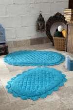 Набор ковриков для ванной Кружевной Merit (ручная работа)