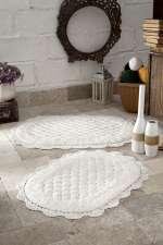 Коврики MODALIN Merit кружевные для ванной комнаты (ручная работа)
