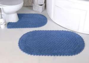 Коврики MODALIN Prior кружевные для ванной комнаты (ручная работа)