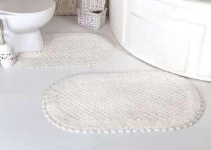 Набор ковриков для ванной Кружевной Prior (ручная работа)