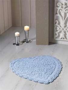 Коврик для ванной кружевной Modalin Sisley 60х65 см Цвет в ассортименте