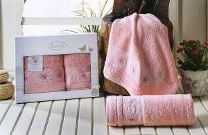 Комплект махровых полотенец KARNA BIANCA 50x90-70х140
