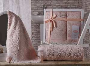 Комплект махровых полотенец KARNA ESRA 50x90-70х140 1/1