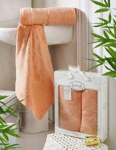 Комплект полотенец бамбук KARNA PANDORA 50х90-70х140 1/2