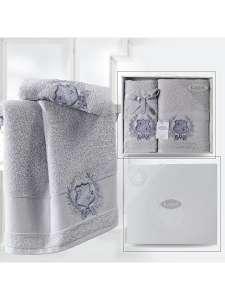 Комплект махровых полотенец KARNA DAVIS