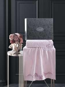 Комплект махровых полотенец KARNA VALOR с вышивкой 50x90-70х140 1/1