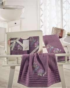Комплект махровых полотенец KARNA ESTE 50x90-70х140