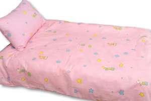 Детское постельное белье в кроватку Поплин (Бязь импортная)  Детство