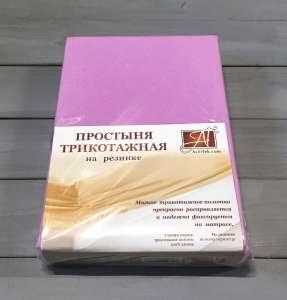 Простынь АльВиТек трикотажная на резинке ПТР-140