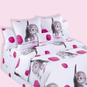 Детское постельное бельё бязь Pussycats